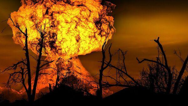 Explosion d'une bombe nucléaire - Sputnik France