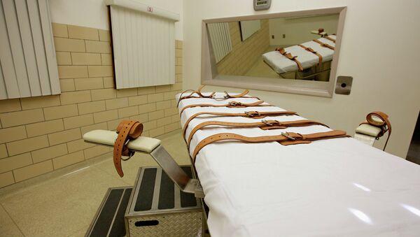Chambre d'injection létale aux Etats-Unis - Sputnik France