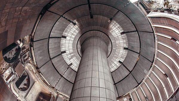 Vue intérieure du Tokamak NSTX-U - Sputnik France