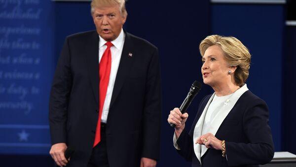 Clinton devait présenter Trump comme une menace pour les USA - Sputnik France