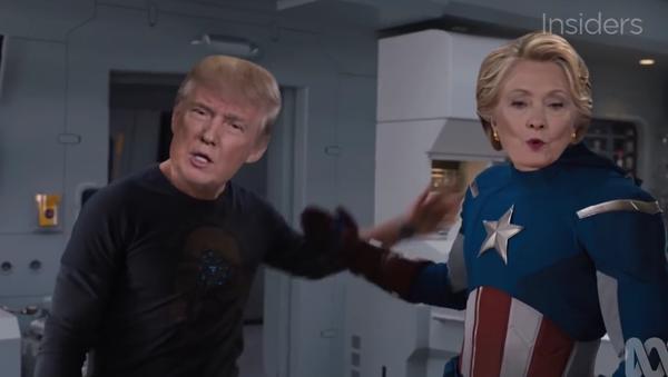 Presidential Avengers: Uncivil War - Sputnik France