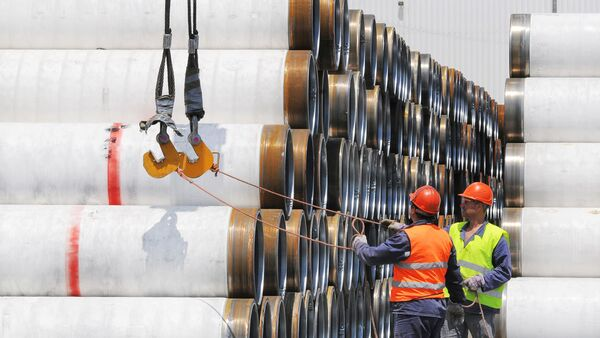 The Turkish Stream Offshore Pipeline - Sputnik France