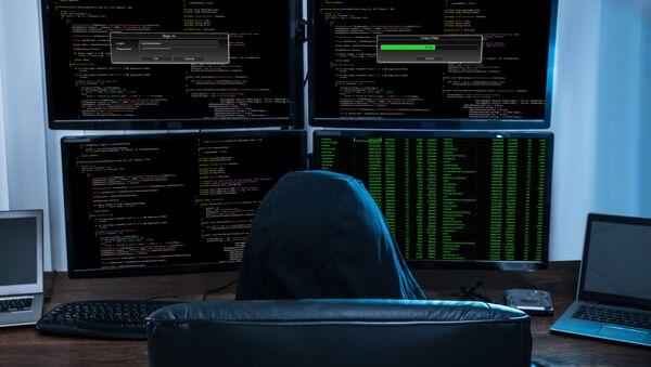 Хакер за компьютерами - Sputnik France