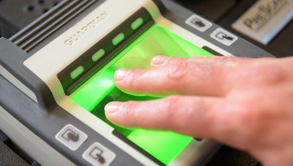 Fingerprint reader - Sputnik France