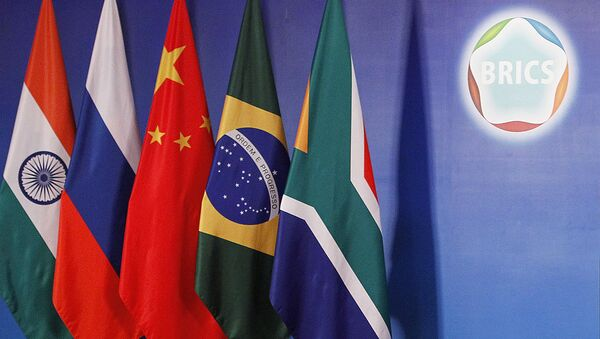 Les drapeaux des BRICS  - Sputnik France