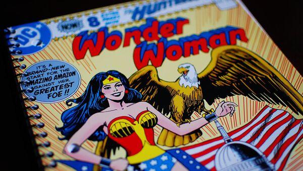 Le cahier avec Wonder Woman - Sputnik France