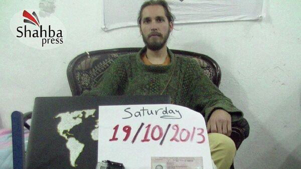 Российский путешественник Константин Журавлев, похищенный в Сирии - Sputnik France