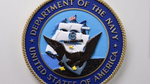 L'emblème du département la Marine des États-Unis - Sputnik France
