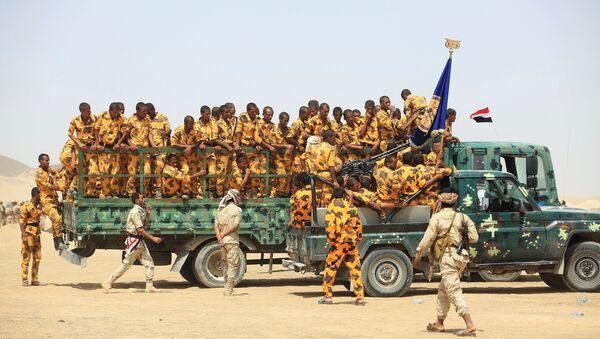 Los soldados del ejército de Yemen - Sputnik France