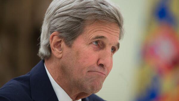 John Kerry, secrétaire d'Etat américain - Sputnik France