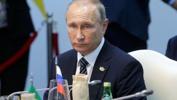 Vladimir Poutine au sommet des BRICS - Sputnik France
