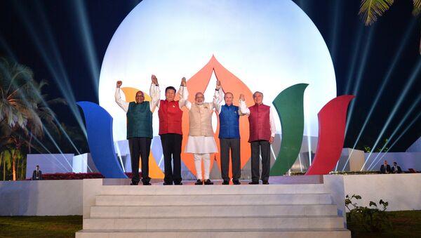Le sommet des BRICS à Goa - Sputnik France