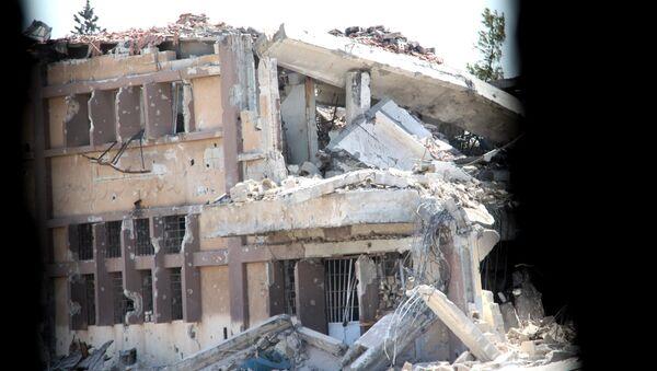 La ville d'Alep en ruines - Sputnik France