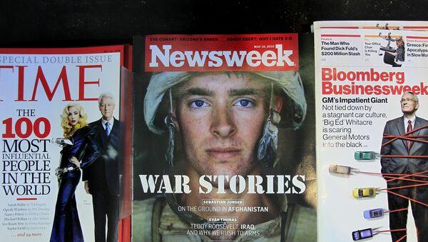 le magazine Newsweek - Sputnik France