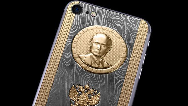 iPhone Supremo Putin Damascus - Sputnik France