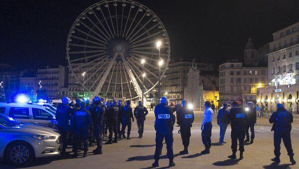 Manifestation de policiers sur le Vieux-Port à Marseille - Sputnik France