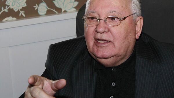 L'ex-président de l'URSS Mikhaïl Gorbatchev - Sputnik France