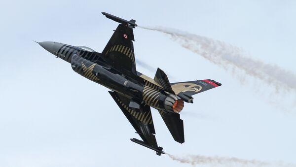 Caza F-16C de la Fuerza Aérea Turca - Sputnik France