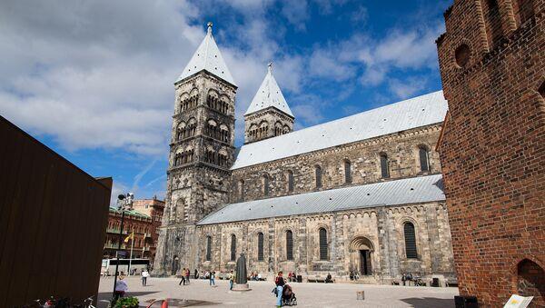 La cathédrale de la ville suédoise de Lund - Sputnik France