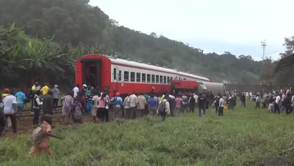 Cameroun: 53 morts dans le déraillement d'un train - Sputnik France