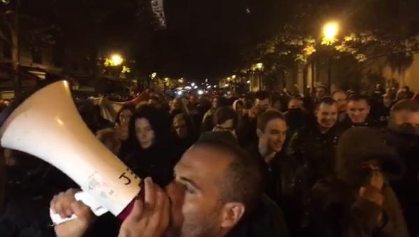 Manifestation des policiers à Paris - Sputnik France