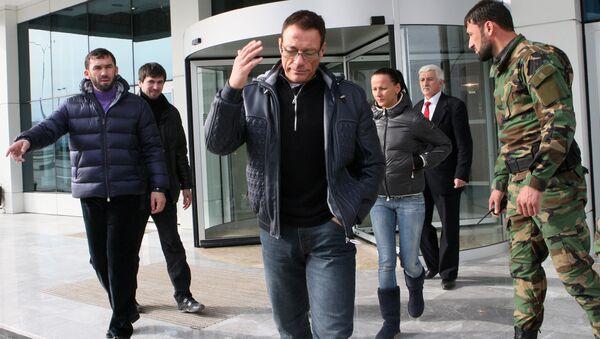 Jean-Claude Van Damme à Grozny - Sputnik France