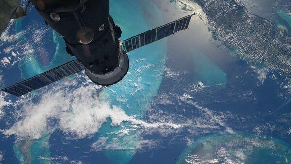 Фотография вида с МКС на Землю, сделанная российским космонавтом Сергеем Волковым - Sputnik France