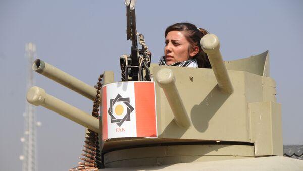 Unité de femmes peshmergas - Sputnik France