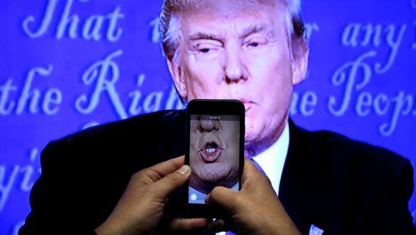Marre des médias: Trump lance sa propre émission d'info - Sputnik France