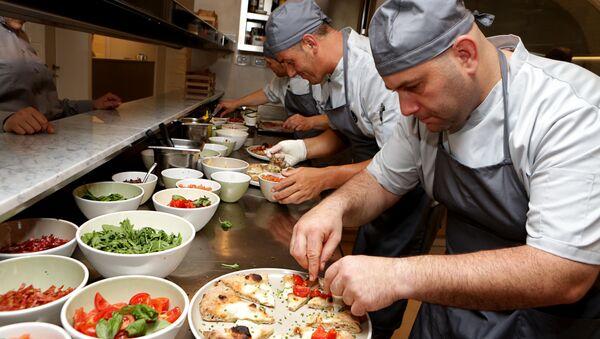 La pizzeria Sp.accio à Rimini - Sputnik France