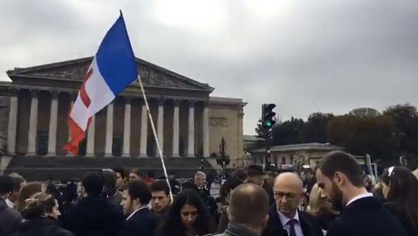 Les policiers toujours dans la rue à la veille d'une rencontre avec Hollande - Sputnik France
