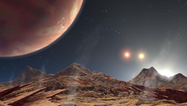 Une exoplanète vue par un artiste peintre - Sputnik France