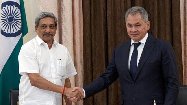 Министр обороны РФ Сергей Шойгу прилетел в Индию для обсуждения военно-технического сотрудничества - Sputnik France