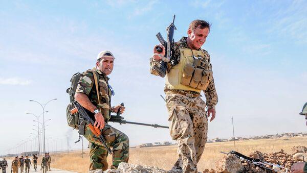 Бойцы пешмерга в рамках операции в Мосуле - Sputnik France