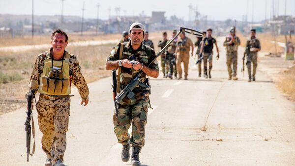 Combattants peshmerga - Sputnik France
