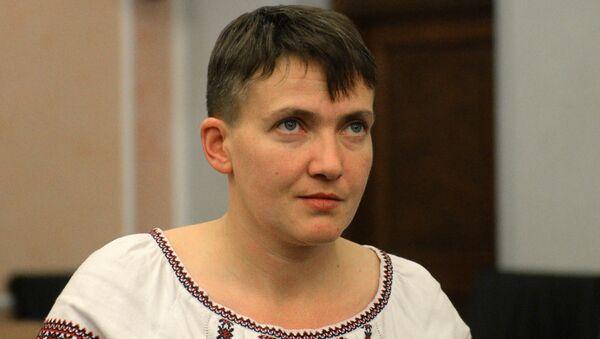 Nadejda Savtchenko est venue à Moscou pour le procès en appel de ses compatriotes - Sputnik France