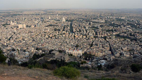 Des centaines de terroristes évacués d'un quartier de Damas - Sputnik France