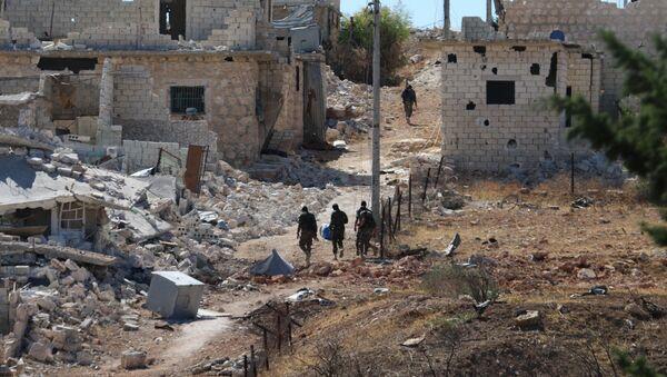 Le camp de réfugiés de Handarat, au nord d'Alep - Sputnik France