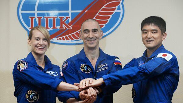Trois astronautes atteris sur Terre - Sputnik France
