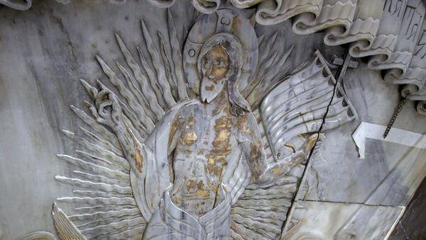 le tombeau du Christ dans l'église du Saint-Sépulcre à Jérusalem - Sputnik France