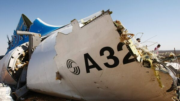 Место крушения российского самолета Airbus A321 в Египте - Sputnik France