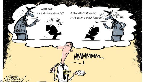 Quand un journal allemand évoque les «bonnes» et les «mauvaises» bombes... - Sputnik France