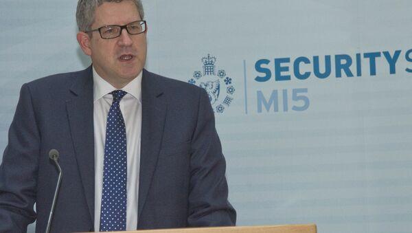 Andrew Parker, chef du MI5 britannique - Sputnik France