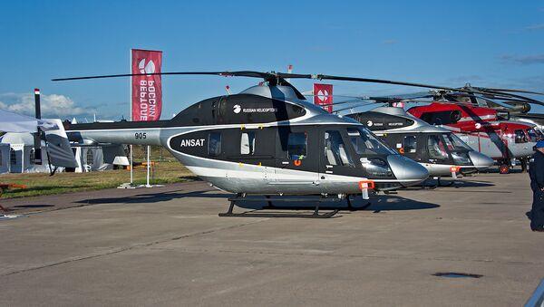 Ansat multipurpose utility helicopters - Sputnik France
