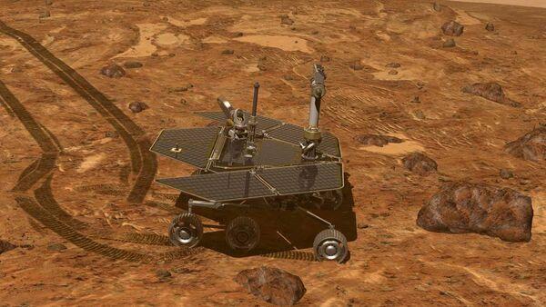 Le rover martien Opportunity - Sputnik France