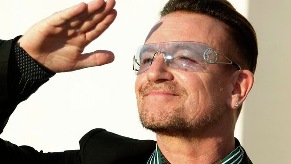 Bono, premier homme prétendant au titre de Femme de l'année - Sputnik France