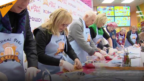 Des kebabs américains présidentiels vendus à Moscou - Sputnik France
