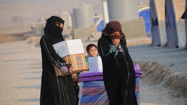 Les habitants de Mossoul quittent la ville - Sputnik France