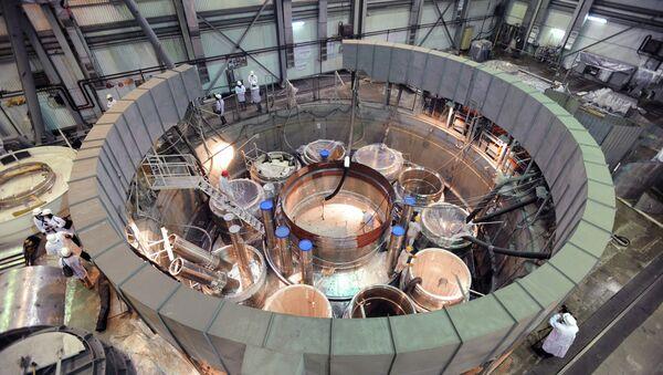 L'assemblage du réacteur BN-800 à Beloïarsk - Sputnik France