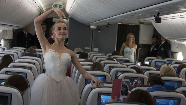 British Airways accueille le premier ballet du Bolchoï à son bord - Sputnik France